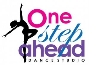 One Step Ahead Dance Studio Logo